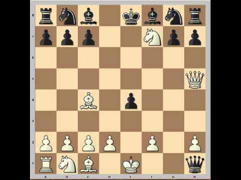 Elephant Gambit - Extremely sharp chess game