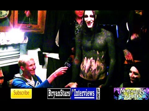 Motionless In White Interview #2 UNCUT Fearless Friends Tour 2012