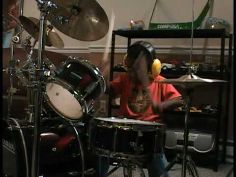Bryan Adams Summer of 69 Cover - 3 Year Old Drummer