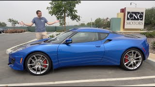 Here's Why You Should Consider a Lotus Evora 400