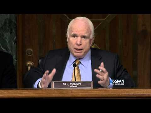 Exchange between Sen. John McCain and General Lloyd Austin (C-SPAN)