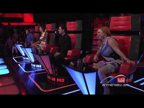 Anna Barseghyan,Clown by Emeli Sande  -- Voice of Armenia – The Blind Auditions – Season 3