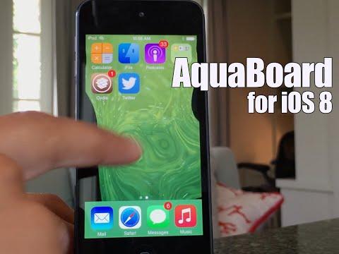Cydia Tweak: AquaBoard (iOS 8)