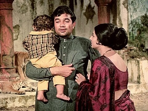 Rajesh Khanna Forgives Tanuja - Haathi Mere Saathi video