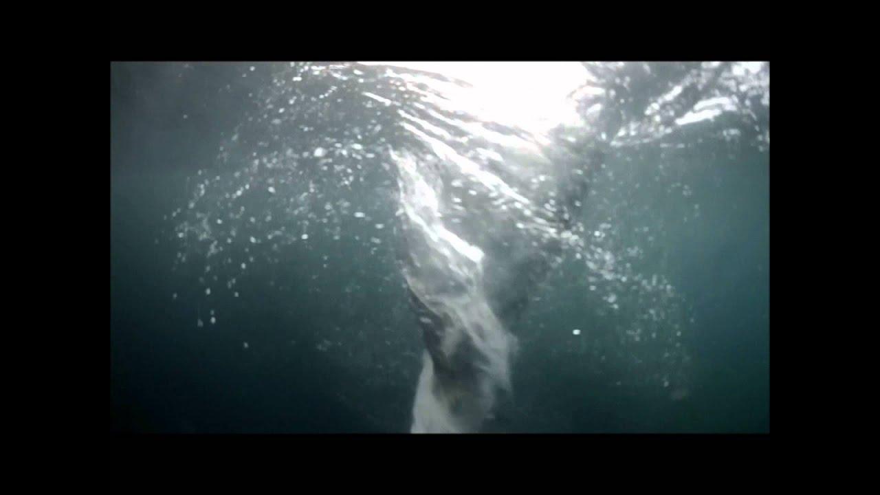 Giant whirlpools in the atlantic ocean