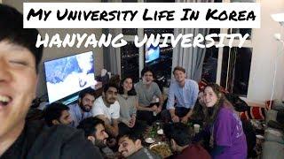 Day in the Life of a Korean University Student | Hanyang University