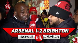 Arsenal 1-2 Brighton | We Could Be The Next Leeds! We're In A Relegation Battle (Troopz)