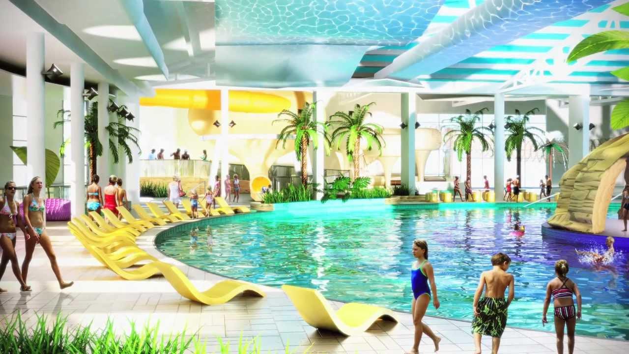 Latest news from our brand new splash waterworld in skegness youtube for Bognor regis butlins swimming pool
