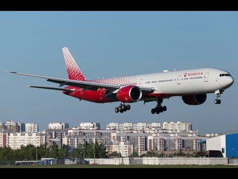 Привет, Крым!, АК Россия, Боинг 777-300 PMDG, Ватсим. Prepar3D v4