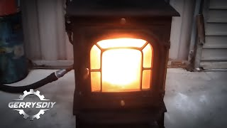 Amazing and Easy...Convert your Stove to burn waste oil