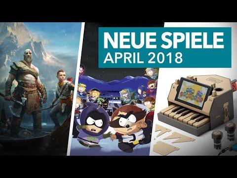 Neue Spiele für PS4, Xbox One, Switch & Co. im April 2018
