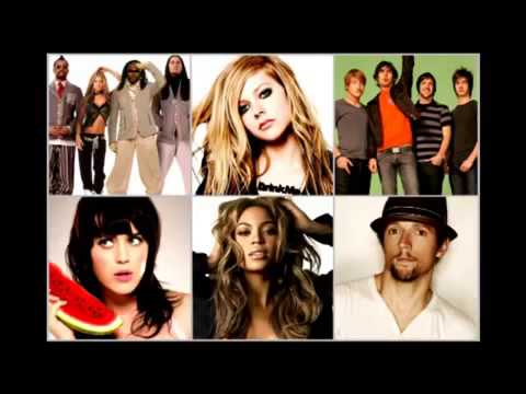 Avril Lavigne vs  Beyonce, Jason Mraz, Katy Perry, BEP, AAR   What The Hell