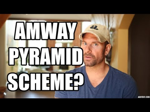 Amway Pyramid Scheme?   Former Distributor Reveals The Truth