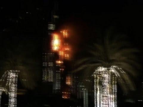 Raw: Fire Breaks Out at Dubai High-Rise