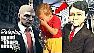UN COPIL DEVINE HITMAN SI PLANGE - GTA 5 ROLEPLAY ROMANIA