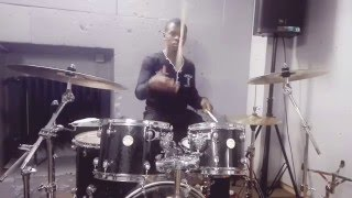 """REJOICE""    by Sinach  - Drum Cover     Emmanuel Drummer"