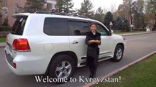 Toyota Land Cruiser 200 Kyrgyzstan car for rent