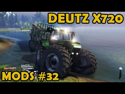 Spin Tires Mod Review #32 - Deutz x720