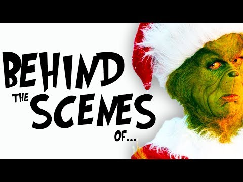 Behind The Scenes Of How THE GRINCH Stole Christmas (Jim Carrey)