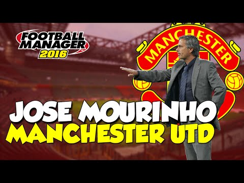 Jose Mourinho At Manchester United - Football Manager 2016 Experiment