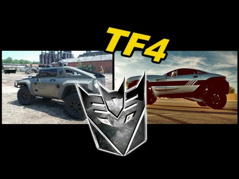 First Decepticon spotted on Transformers 4 - [TF4 News #21]