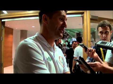 Robbie Keane interview post Ireland vs  Bosnia Herzegovina