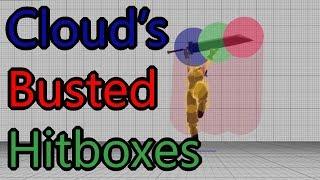 Explaining Cloud's Busted Hitboxes (Smash 4)