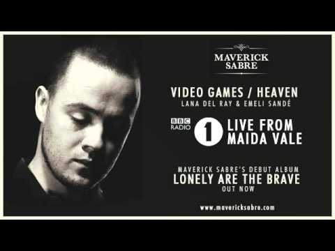 Maverick Sabre - BBC Radio 1 Live Lounge &#039;Video Games / Heaven&#039; - Lana Del Ray &amp; Emilie Sande mashup