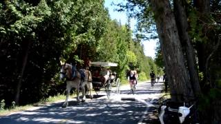 Biking On Mackinac Island!