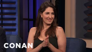 D'Arcy Carden Has A Very Rough Spine - CONAN on TBS