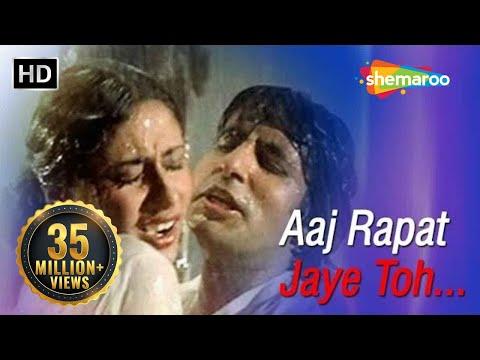 Aaj Rapat Jaye Toh - Amitabh Bachchan - Smita Patil - Namak...