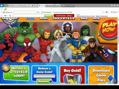 Super Hero Squad Online codes 2013 (June)