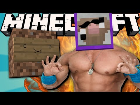 PURPLE SHEP IS JOHN CENA!! | Minecraft