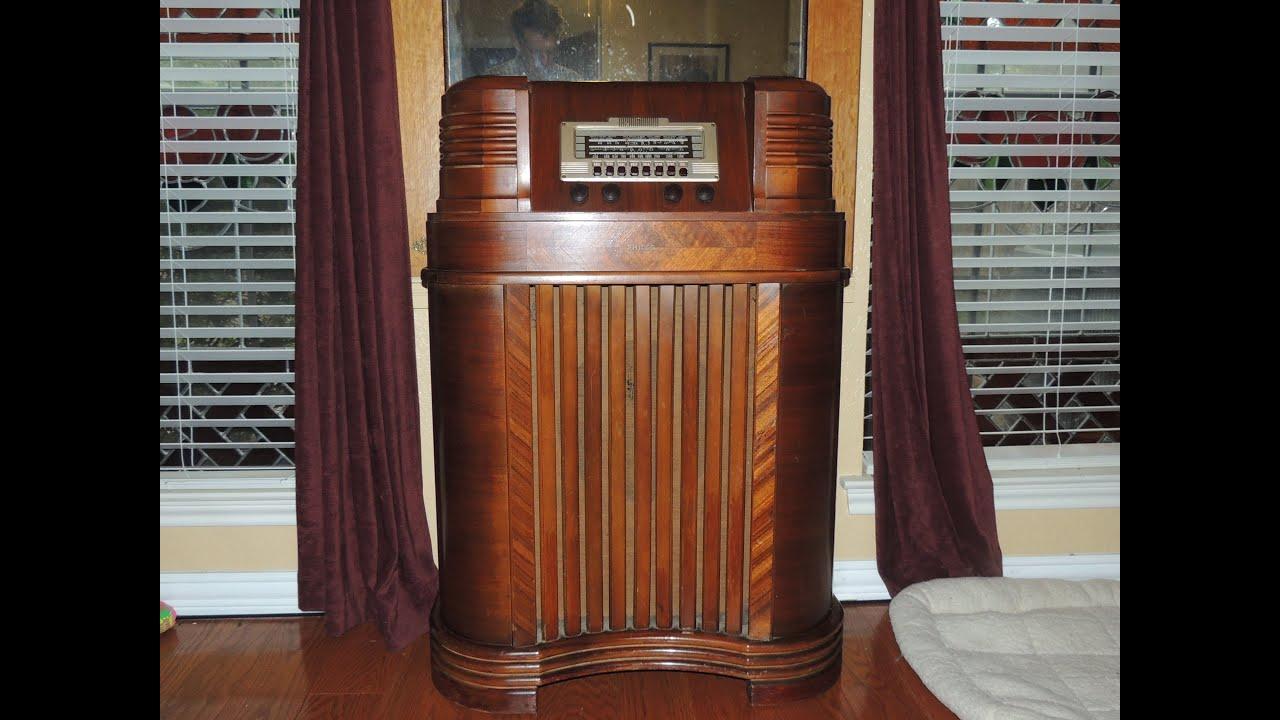 Philco Floor Radio Philco Radio Refurbishing