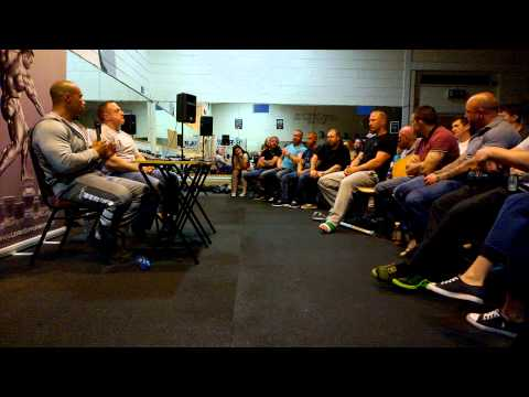 Kevin Levrone Seminar -RAW GYM DUBLIN part1