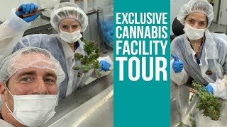 Flowr Facility Tour — Canada's high-tech marijuana operation $FLWR