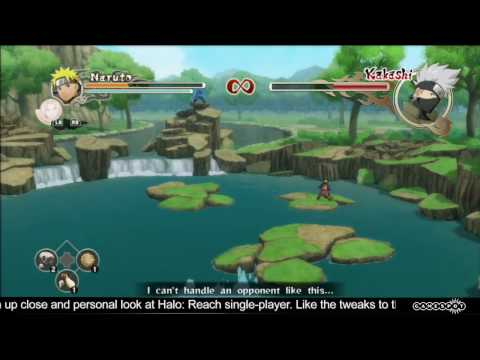 E3 2010 Stage Demo: Naruto Shippuden - Ultimate Ninja Storm 2 Video