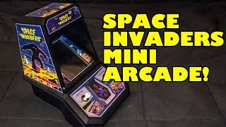 Custom Space Invaders Coleco Mini Arcade - Raspberry Pi RetroPie