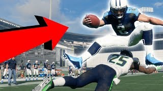 Can Tiny Player Jump Over A Giant One? Madden NFL 18 Challenge