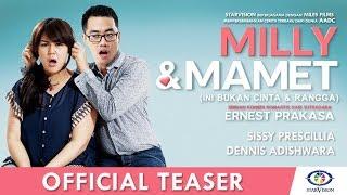 Download Lagu MILLY & MAMET (Ini Bukan Cinta & Rangga) - Official Teaser #1 Gratis STAFABAND