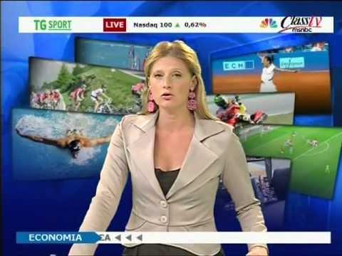Silvia Sgaravatti – Tg sport – 5