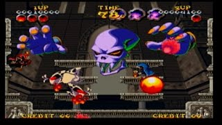 NIGHTMARE IN THE DARK - 2 players co-op gameplay!! Snk Neo Geo arcade (live commentary)