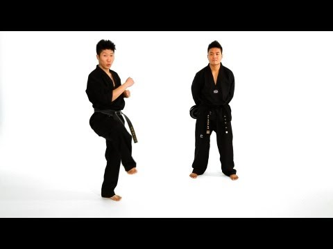 How to Do a Tornado Axe Kick | Taekwondo Training Image 1