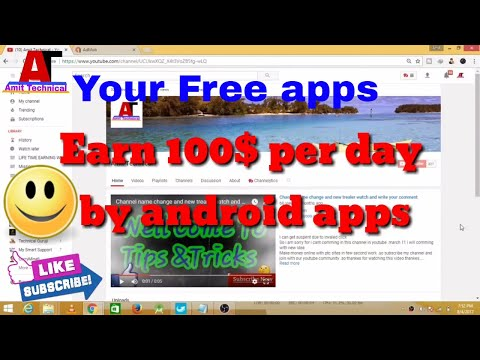 How to earn 10000$ month on android By Developing apps 2017 make online money 2017 Free - part 1