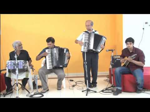 Awara Hoon on Accordion and Mandolin by Goldfingers Group of...
