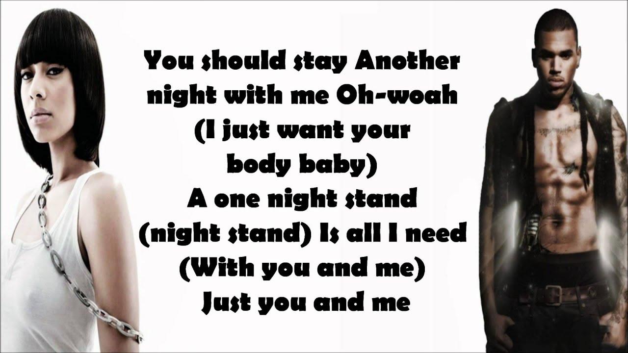 Dejta One Night Stand Lyrics