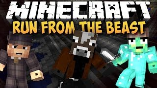 Minecraft: UCIEKAMY PRZED BESTIĄ! - Run from the Beast w/ Jasiu, Dealereq