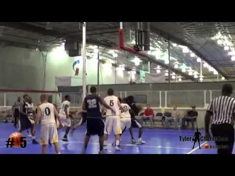 Tyler Chambless, Junior AAU Basketball Highlights, Class of 2013,Brantley County High School