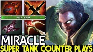 Miracle- [Kunkka] Super Tank VS Techies Insane Counter Plays 7.21 Dota 2