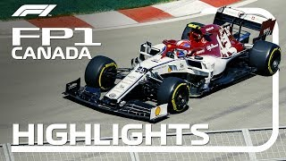 2019 Canadian Grand Prix | FP1 Highlights